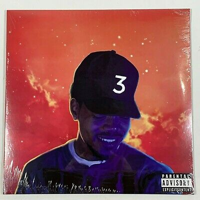 "Chance The Rapper Coloring Book 2LP Vinyl Limited Red 12"" Record"