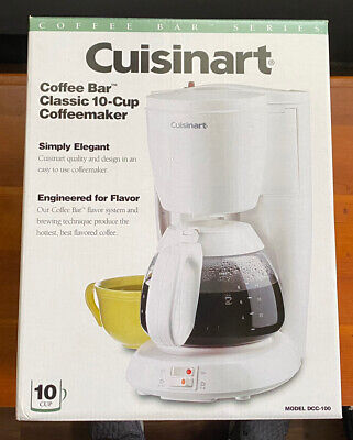 Cuisinart Coffee Maker DCC-100 - Free Shipping