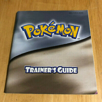 Nintendo Gameboy Manual - Pokemon Gold / Silver Trainers Guide