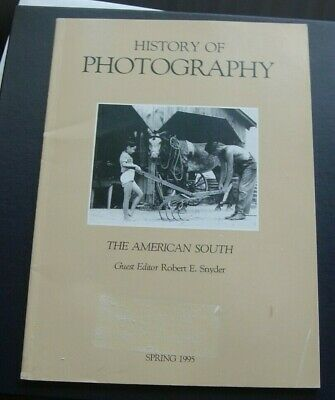 History of Photography Spring 1995 - The American South