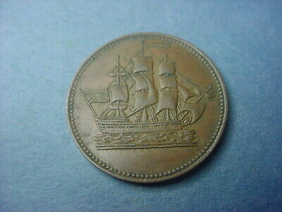 Prince Edward Island 1835 Token Ships Colonies #36859