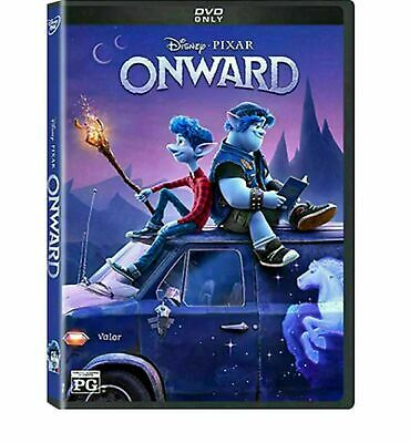 Onward (DVD,2020) >>>NEW DVD In Stock Brand New Fast Shipping!