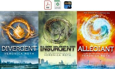 Divergent Trilogy Series [1-3] FULL COLLECTION by Veronica Roth (DIGITAL)
