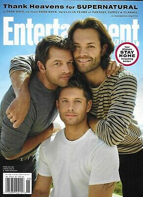 Entertainment Weekly Magazine Supernatural Jensen Ackles Jared Padalecki 2020  '