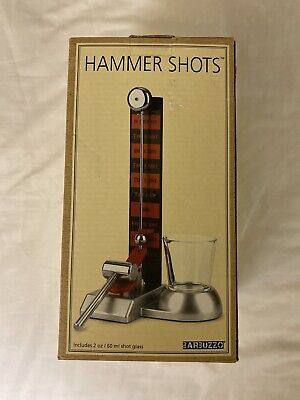 Hammer Shots! Barbuzzo Can You Ring the Bell?! Novelty Drinking Game