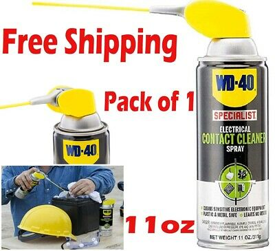 WD 40 Specialist Electrical Contact Cleaner Spray Electronic Equipment 11 oz.