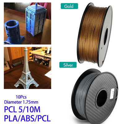 Premium For 3D Printer Filament 1kg/2.2lb 1.75mm PLA PCL ABS For MakerBot UK