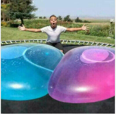 UK Inflatable Wubble Bubble Ball 120CM Soft Stretch Large Outdoor Water Balloons
