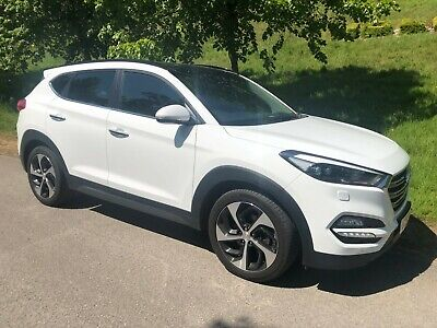 2016/66 Hyundai Tucson 2.0 Crdi Premium Se 2Wd - White - Top Of The Range!!