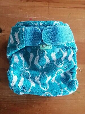 Tots Bots Bamboozle Stretch Nappy And Insert - Size 2 - Nappy Feet