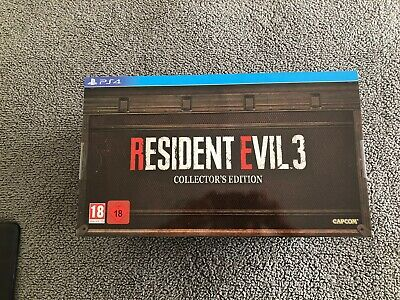Resident evil 3 remake Ps4 Collectors Edition