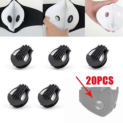 20PCS Dust Replaceable DIY Material Anti Pollution Out Sports Breathing Valve