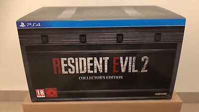 Resident evil 2 remake ps4 Collectors Edition