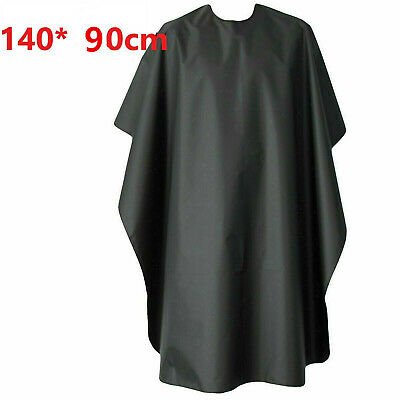 Home Unisex Hairdressing Cape Gown Adults Hair Cutting Cover Barber Apron Grey