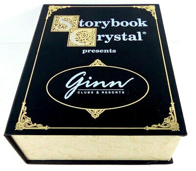 Storybook Crystal Presents Ginn Clubs & Resorts First Edition Glass 4 Pc's Set