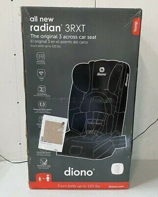 Diono Baby Radian 3 RXT All-in-One Convertible Car Seat - Black