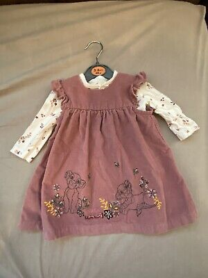 Disney Baby At George Girls Nala Dress 3-6 Months