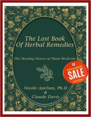 The Lost Book of Herbal Remedies by Claude Davis 🔥[P-D-F]🔥 Fast Delivery 📥