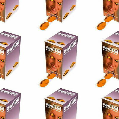 250 Pairs Wink Ease Disposable  Uv Sunbed Eye Protection Goggles Free Dispencer
