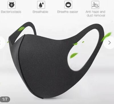 Breathable Air Flow Surgical Mask Washable Face Mouth Protection With Filter