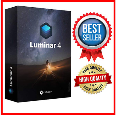 Luminar v4 Photo Editor 2020 ✔️Full Version Life Time for Windows Fast delivery✔