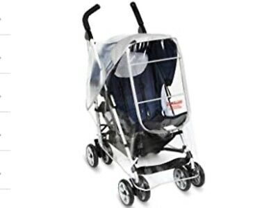 NEW MANITO Clear Essence Stroller Weather Shield Rain Cover New in Package