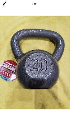 Weider Cast Iron 20lb Kettlebell -In stock - FAST FREE SHIP