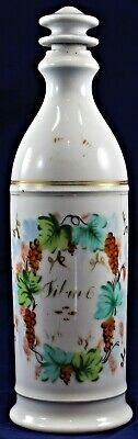 "Large 11.5"" Apotheracy Jar Bottle With Handle Laboratory Science Vintage"