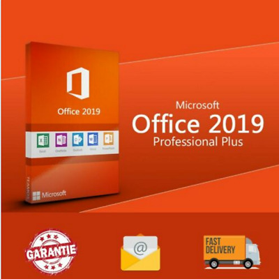 Microsoft Office 2019 Professional Plus Official Key Code ✔️Fast delivery✔️