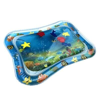 Inflatable Baby Infant Cartoon Play Mat Fun Play Center Water Filled Playmat US