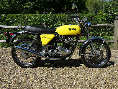 Outstanding 1972 Norton Commando 750, fully sorted classic motorcycle.