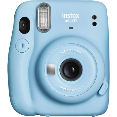 Fujifilm Instax Mini 11 Instant Film Camera - Sky Blue