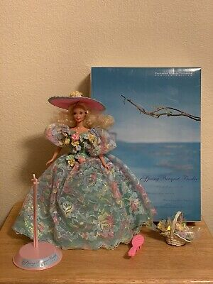 MINT! 1994 SPRING BOUQUET Barbie Doll #12989 Enchanted Seasons LE with Box