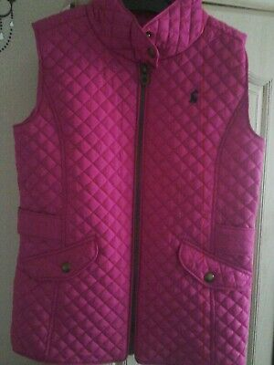 girls body warmer age 9-10 years joules
