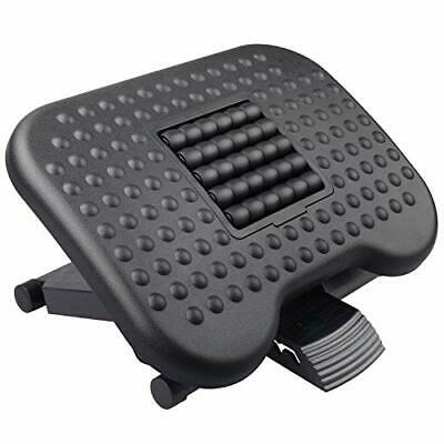 HUANUO Footrest Under Desk - Adjustable Foot Rest with Massage Texture and