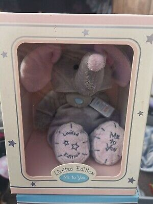 """ME TO YOU TATTY TEDDY 10"""" PLUSH BEAR IN A elephant COSTUME LIMITED EDITION"""