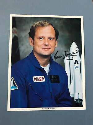 🚨Norman Thagard Authentic Signed 8x10 with COA. NASA Space astronaut🚨