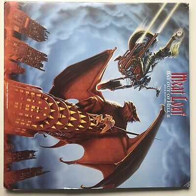 Meat Loaf Bat Out If Hell II 2 Back Into Hell 2019 25th Anniversary Vinyl Lp