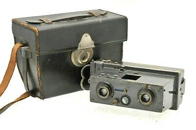 Richard Jules Verascope Paris Stereo Camera 3D Circa 1908-1920 - In Case