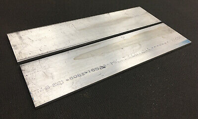 "2 Pieces 1/8"" Thickness 6061-T6511 Aluminum Flat Bar 0.125"" x 4"" x 10"" Length"