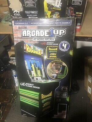 Arcade1up Rampage Arcade Machine Defender Joust Gauntlet New in Box Sealed