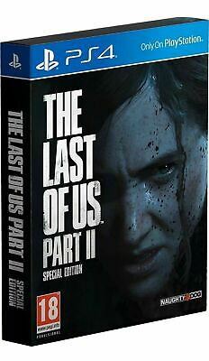 The Last of Us Part II Special Edition STEELBOOK PRE-ORDER release 19/6/2020