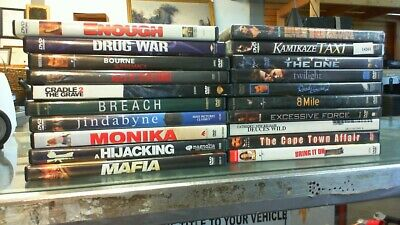 20 - Action -DVD Movie Collection set      (lot 14261)