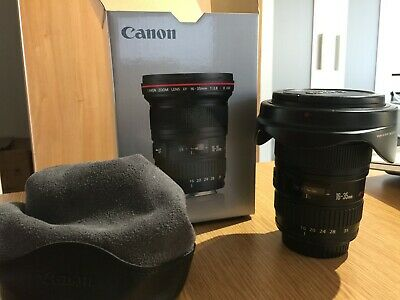Canon Zoom EF 16-35mm F2.8 USM L MKII Lens Used in Good Condition