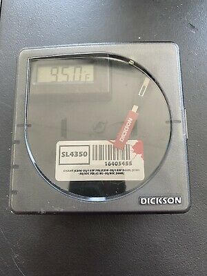 Dickson SL4350 Temperature Recorder  (Made And Certified 2020) -22 to 122F