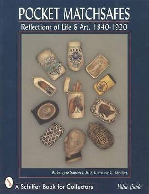 Antique Matchsafe 1840-1920 Collectors Ref Guide - Silver Risque Military MORE