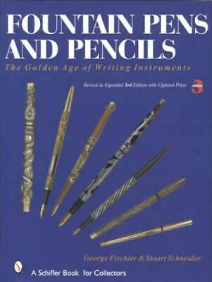 Antique Fountain Pens & Pencils Premium Collectors Guide incl Famous Names