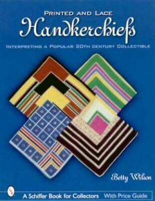 Handkerchief Hankie Printed & Lace ID Book