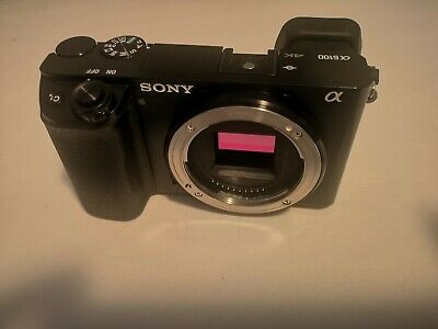 Like new Sony a6100 body only