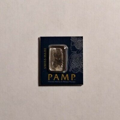 1 gram Pamp Suisse Platinum Bar (in Assay)